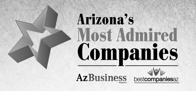 most admired company - black and gray